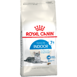 Royal Canin Indoor 7+ сухой корм для пожилых кошек, постоянно проживающим в помещении с 7 до 12 лет